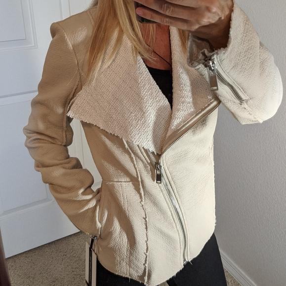🍁NWT Blanc Noir Jacket